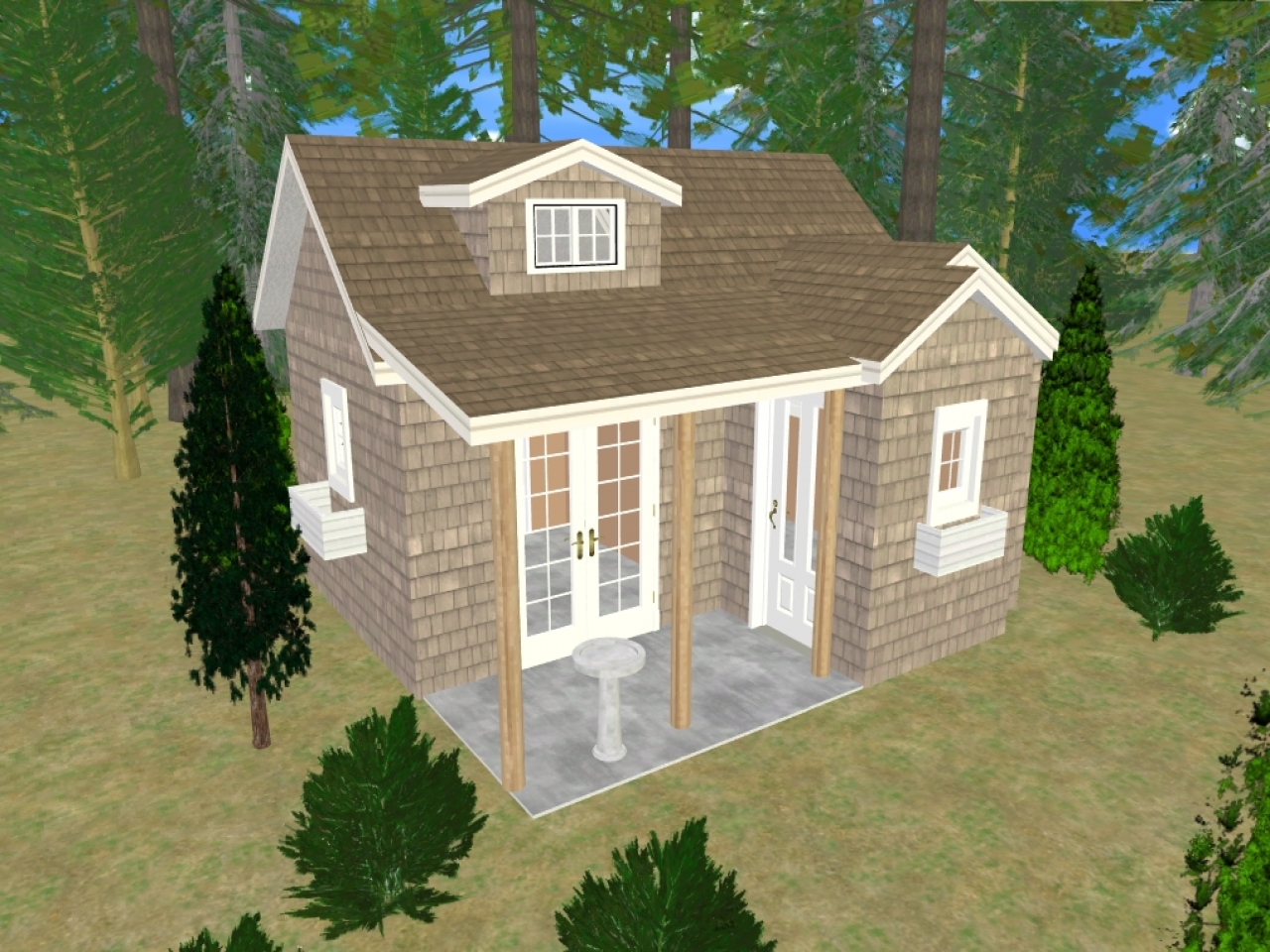 Shed Pictures Design: Storage Sheds Turned Into Houses Small Shed House Plans