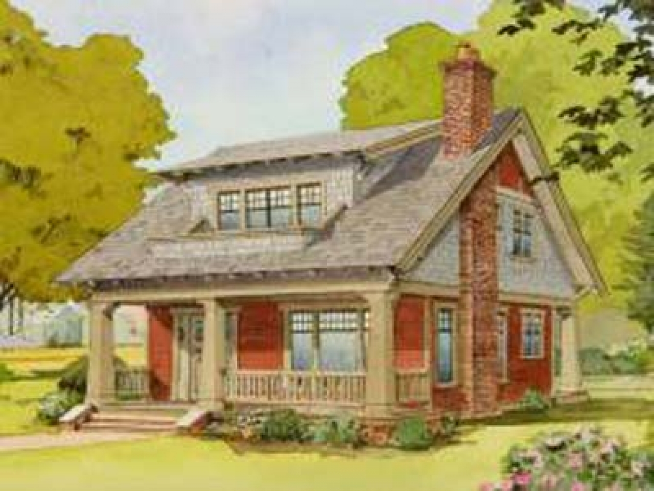 Craftsman style homes arts crafts homes newsletter planning and designing your arts arts and - American bungalow house plans ideas ...