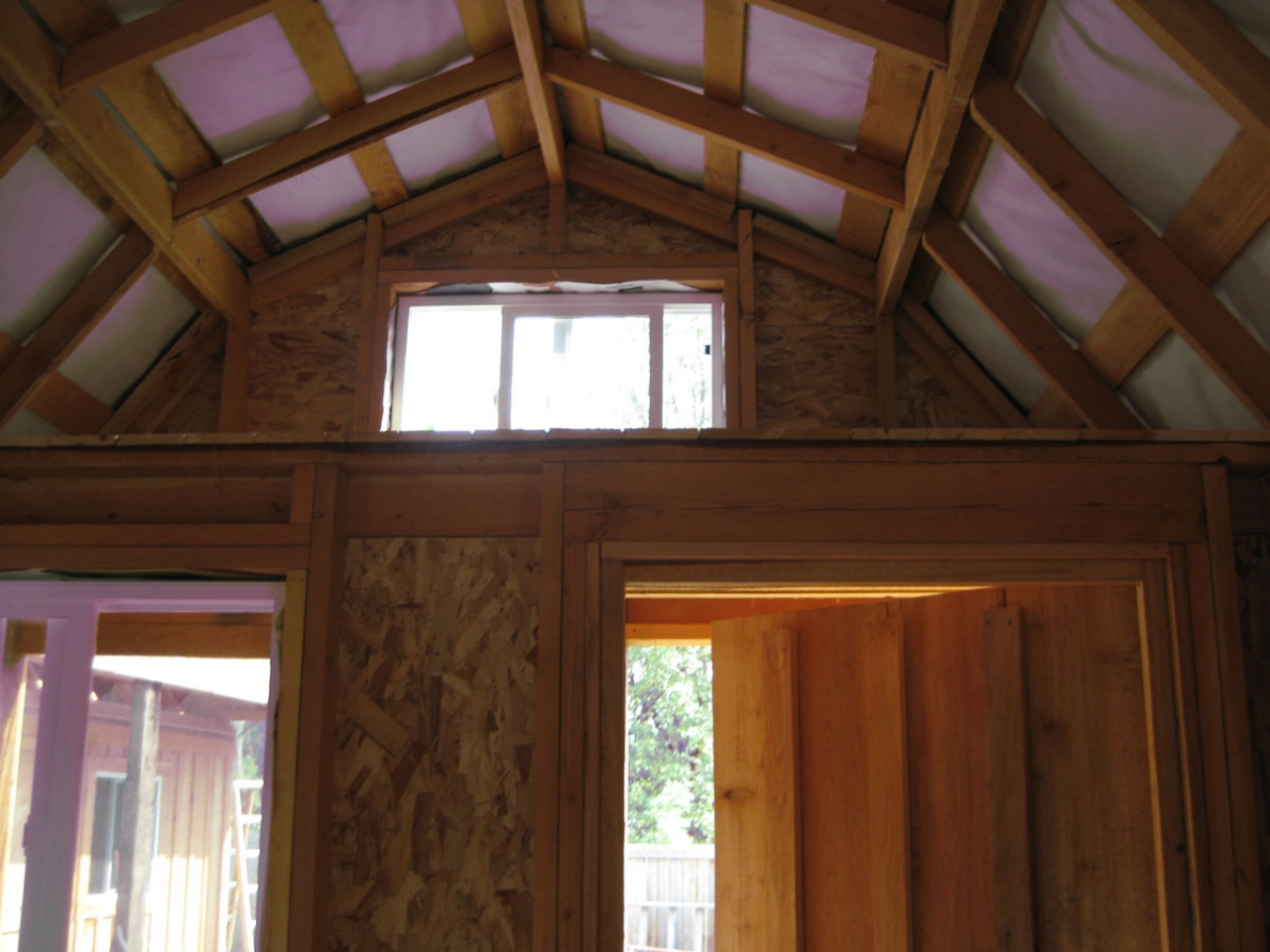 Barn style sheds with loft rustic barn style sheds house for Shed house with loft