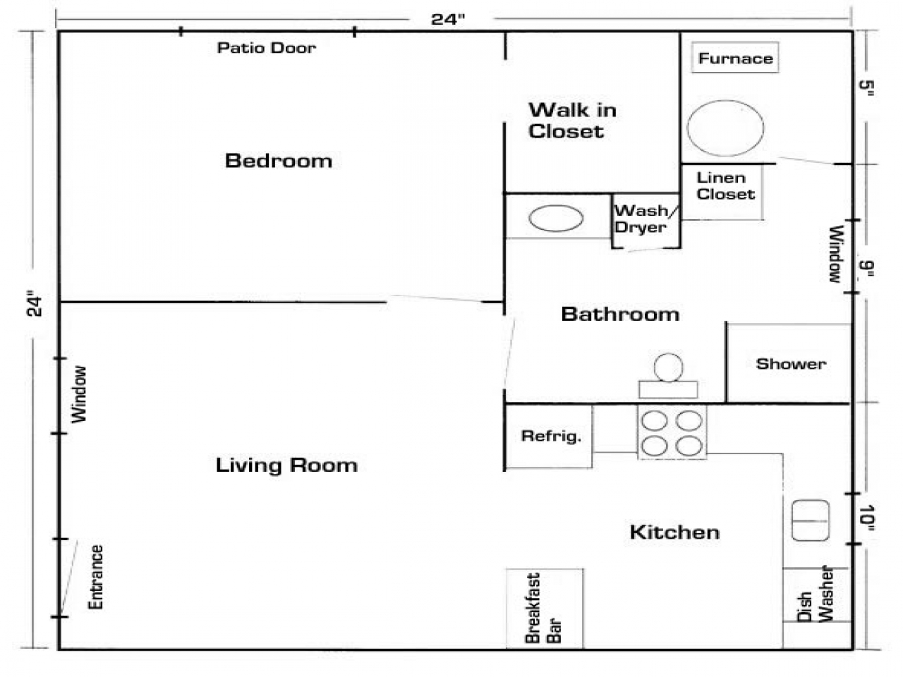 Garage conversions in law suites garage mother in law - Garage conversion floor plans ...