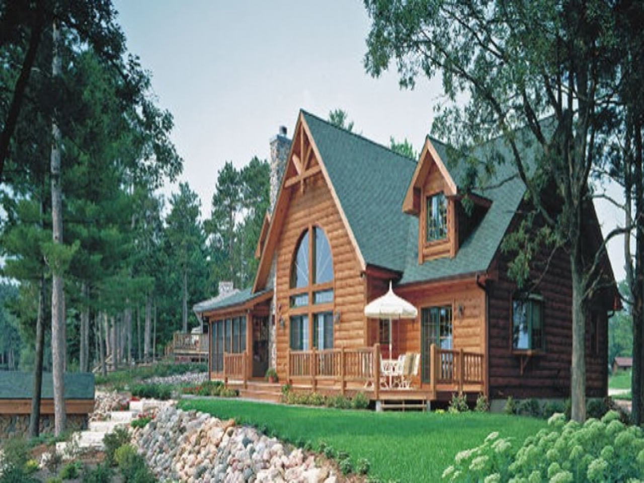 By the lake house small lake home house plans house plans for Lake view home designs