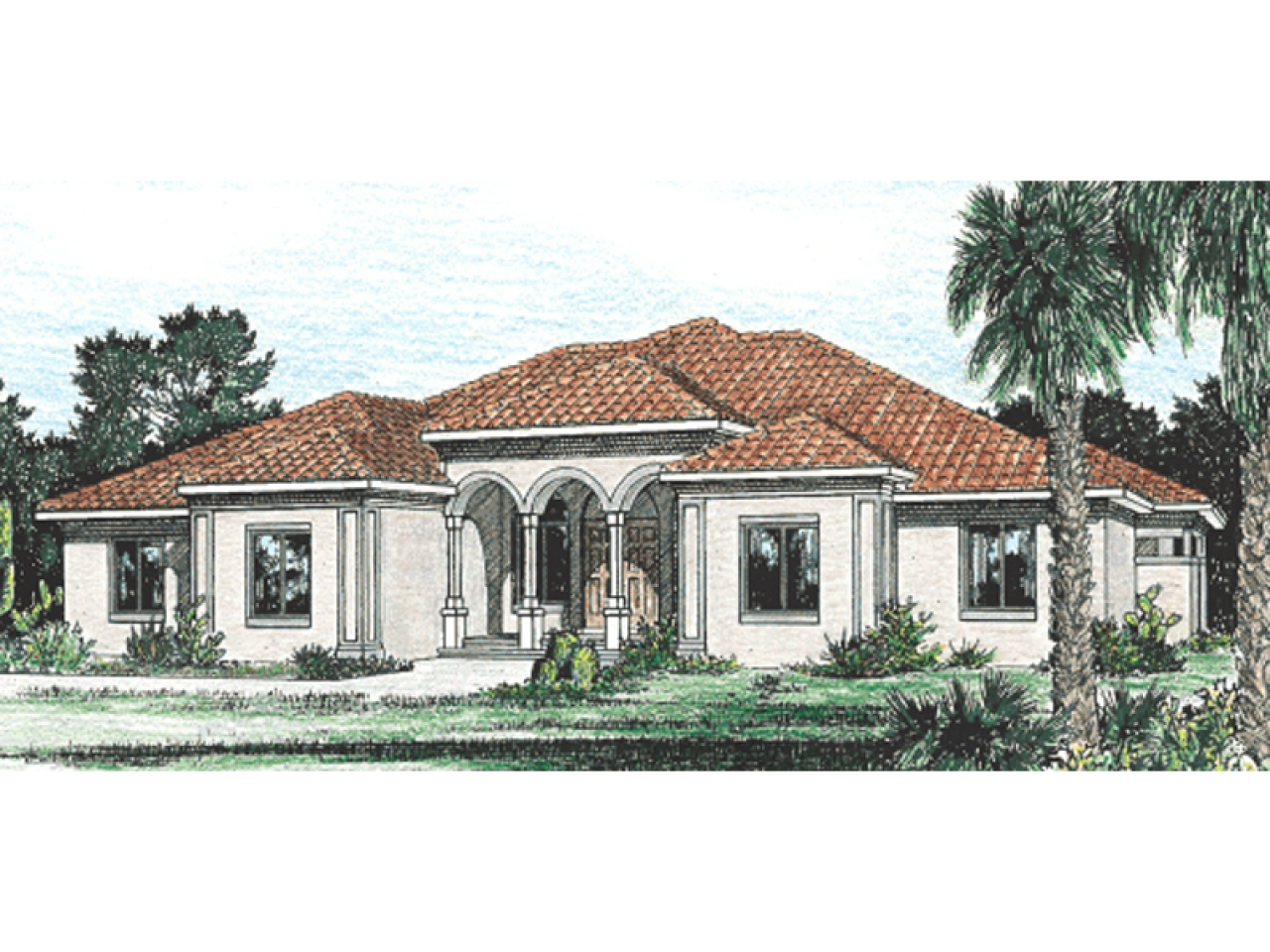 Stucco house plans for homes stucco 2 story house plans for Stucco home plans