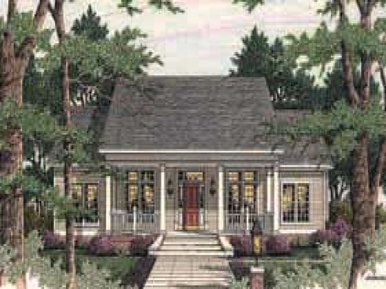 Country Colonial House Plans Cabin House Plans With