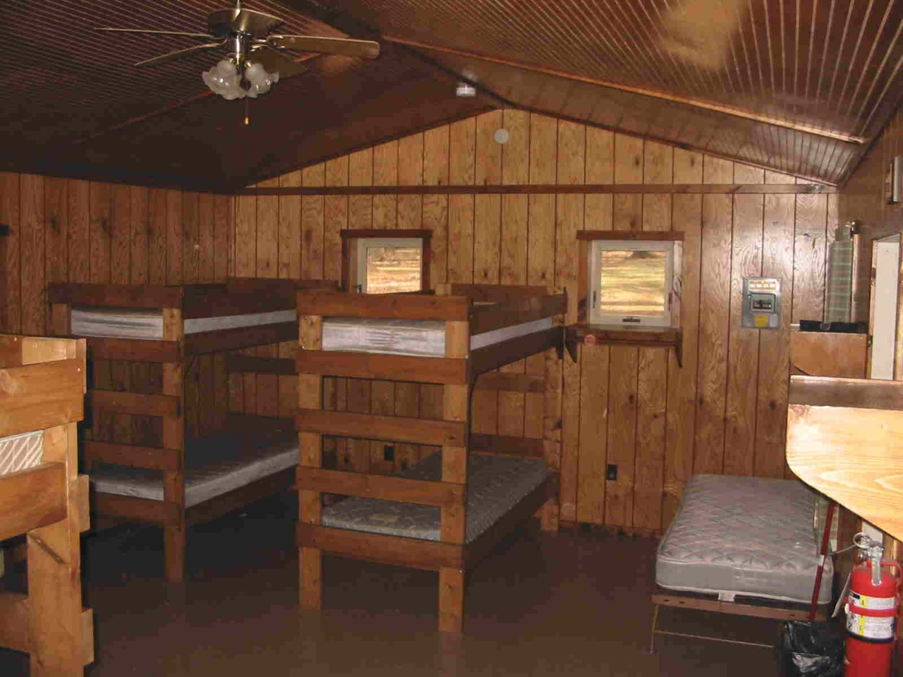 Summer Camp Cabins Interior Overnight Summer Camp Cabin