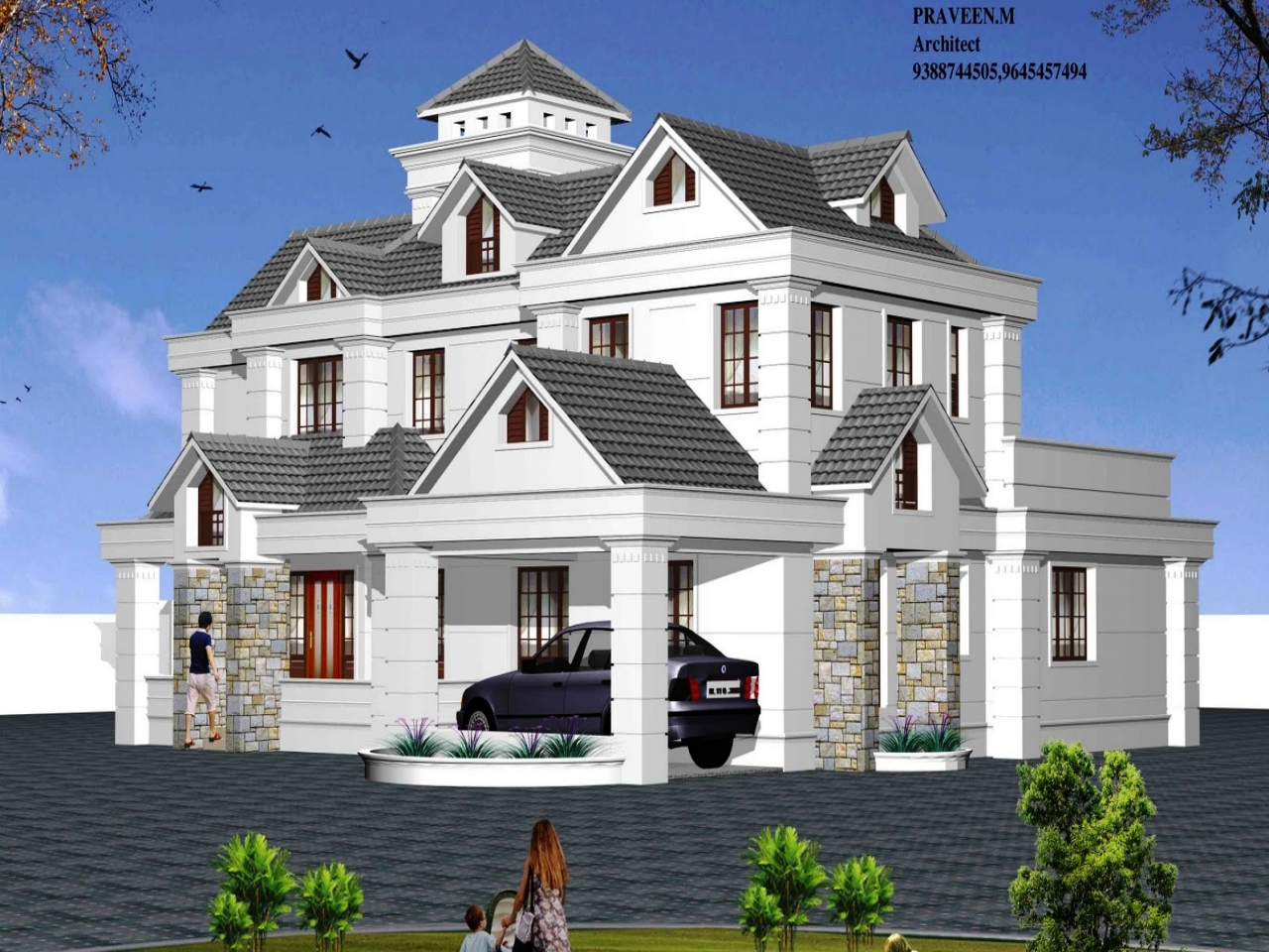 Residential architectural home designs architectural Architectural home builders