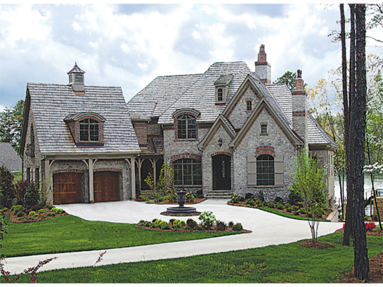 French Country Brick And Stone Homes French Country