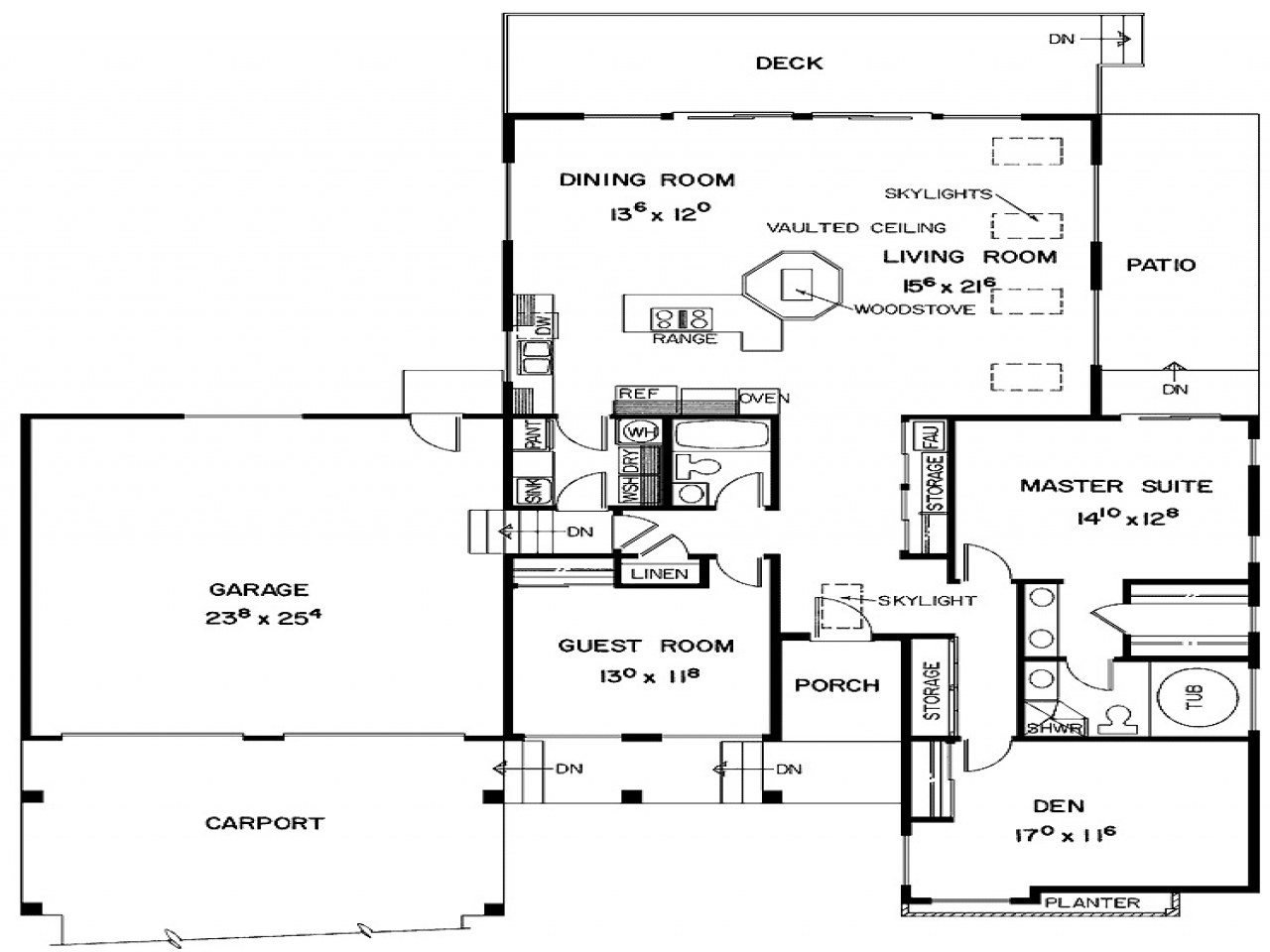 2 Bedroom House Simple Plan Two Bedroom House Plans with ...