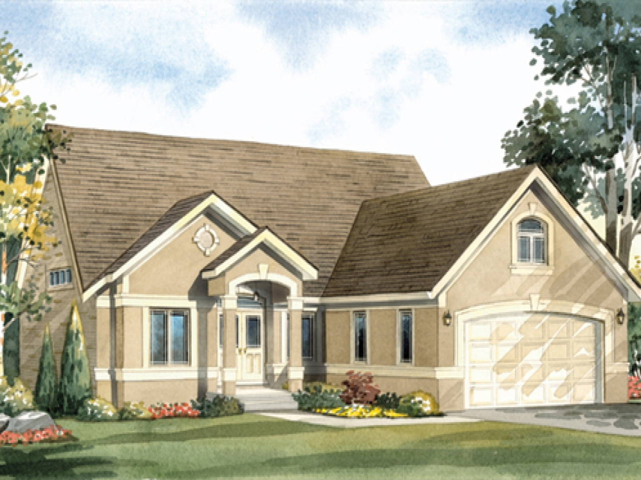 Bungalow front porch with house plans bungalow house plans for California garage plans