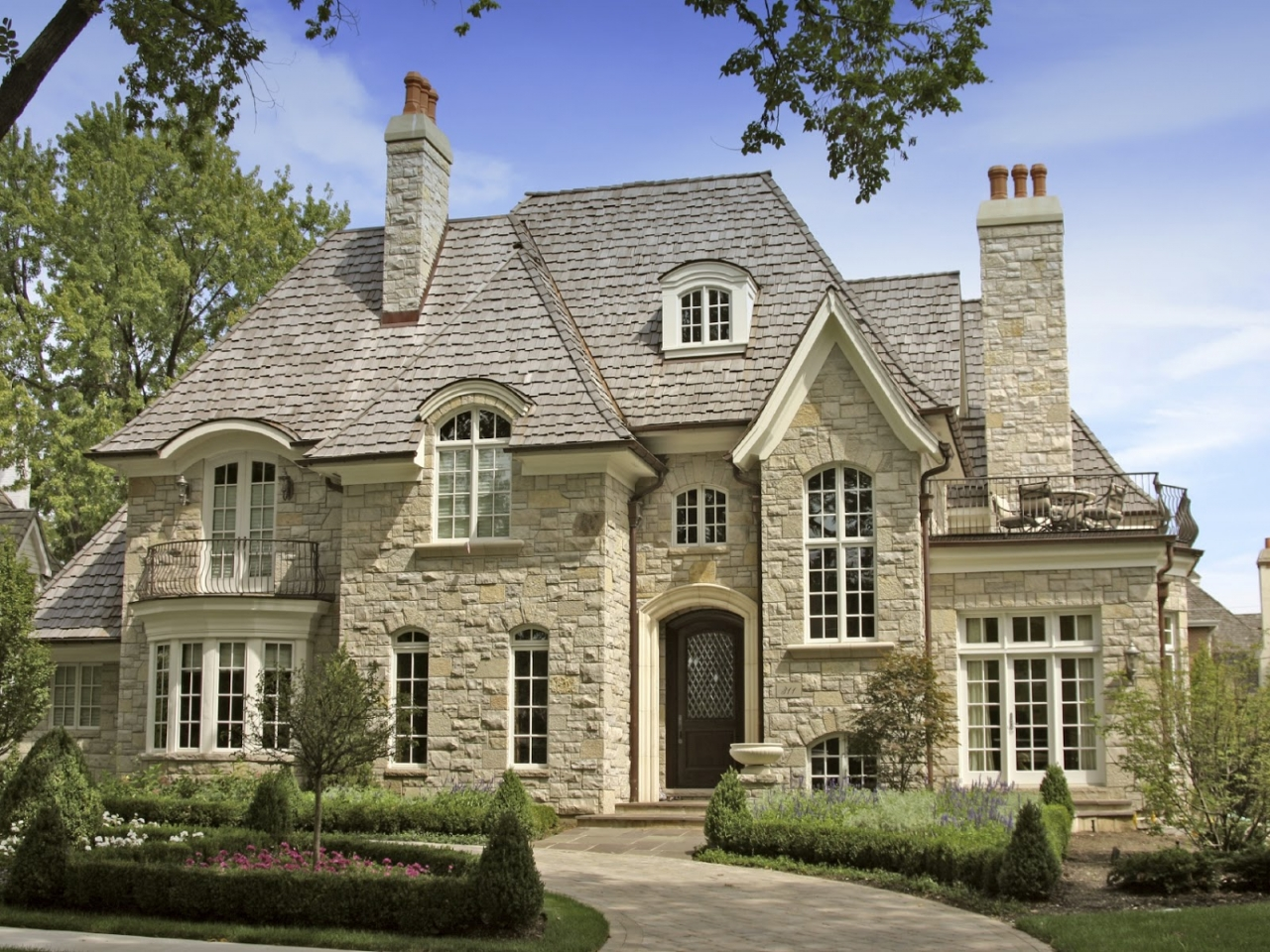 Luxury stonehouse stone luxury house plans country dream for Luxury country house plans