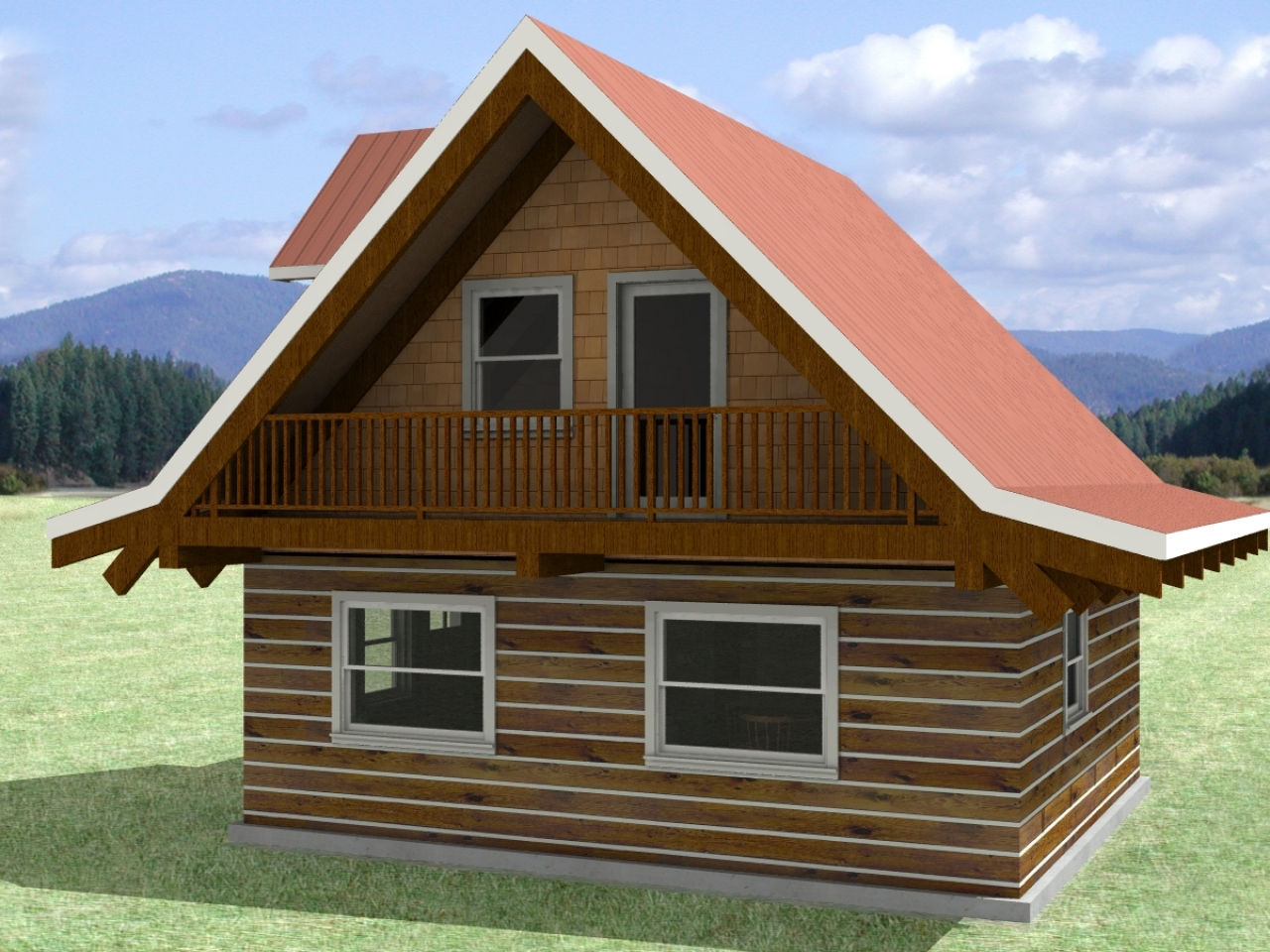 Tiny Log Home Designs: Small Log Cabin Homes Interior Small Log Cabin House Floor