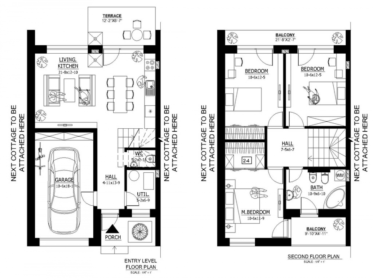 1000 sq ft house plans small house plans under 1000 sq ft for Small house plans with garage