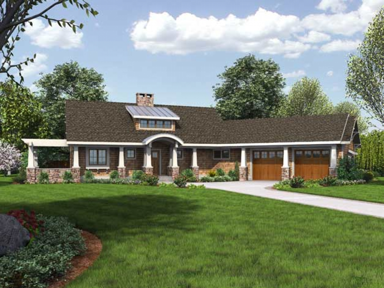 Award winning cottage house plans award winning small home for Award winning ranch house plans