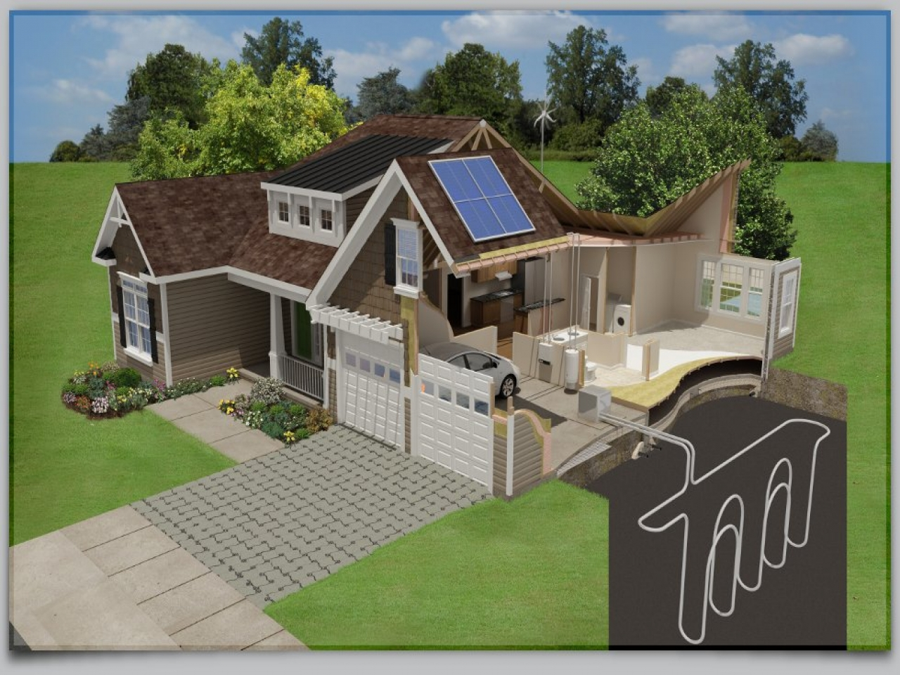 Energy efficient home designs plans energy efficient home for Economical house plans to build