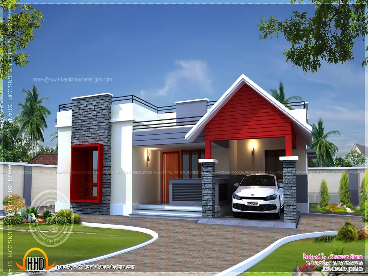 Small Single Floor House Modern Single Floor House Designs