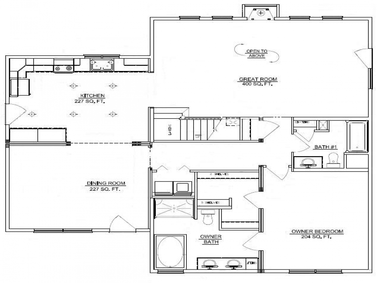 3 bedroom log cabin floor plans 3 bedroom double wide for Log cabin layout plans