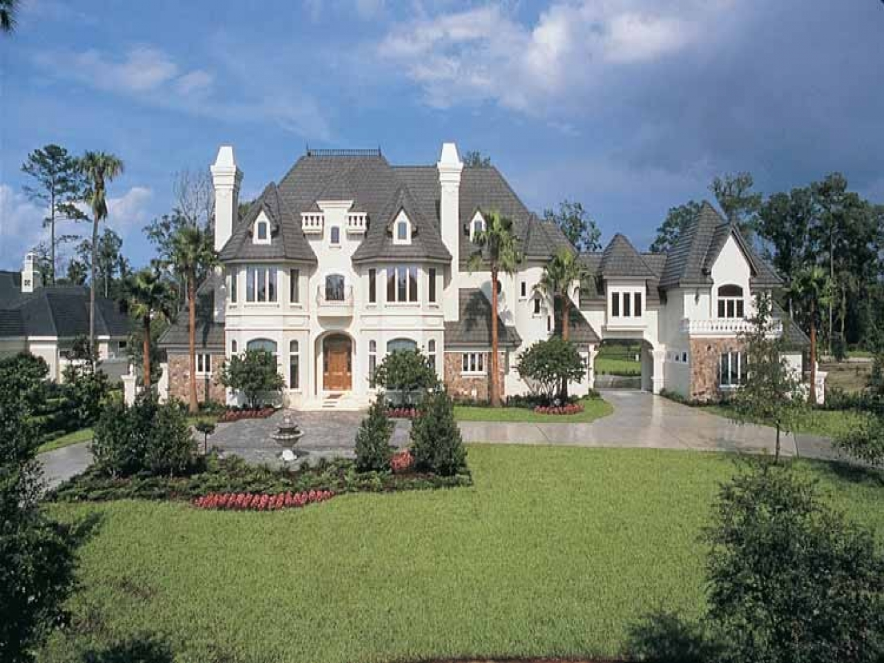 french chateau homes french chateau style house plans french chateau house plans eplans homes treesranch com 3991