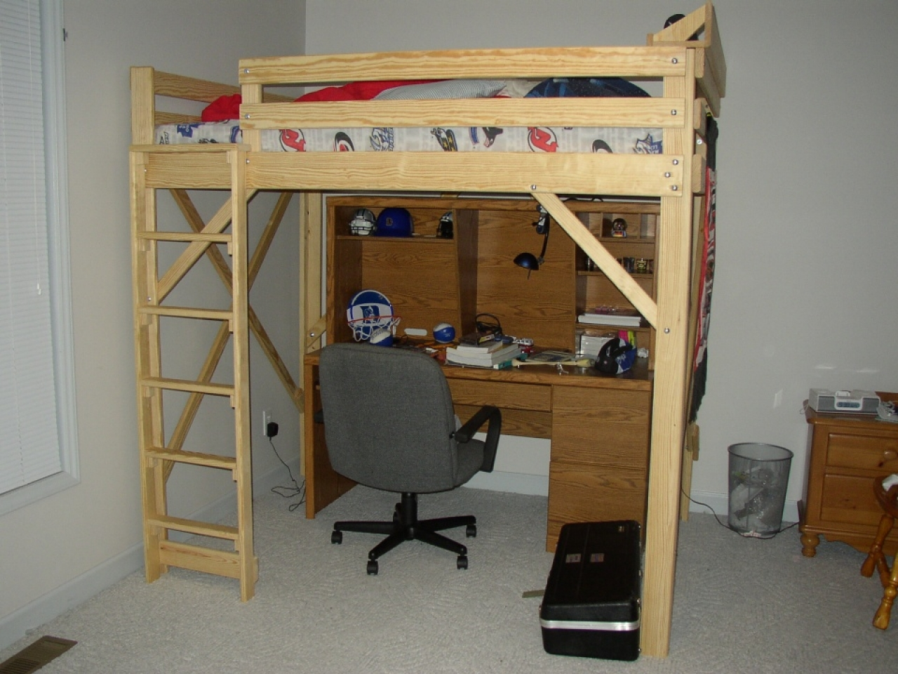 Full Size Metal Loft Bed Full Size Loft Bed Plans Loft