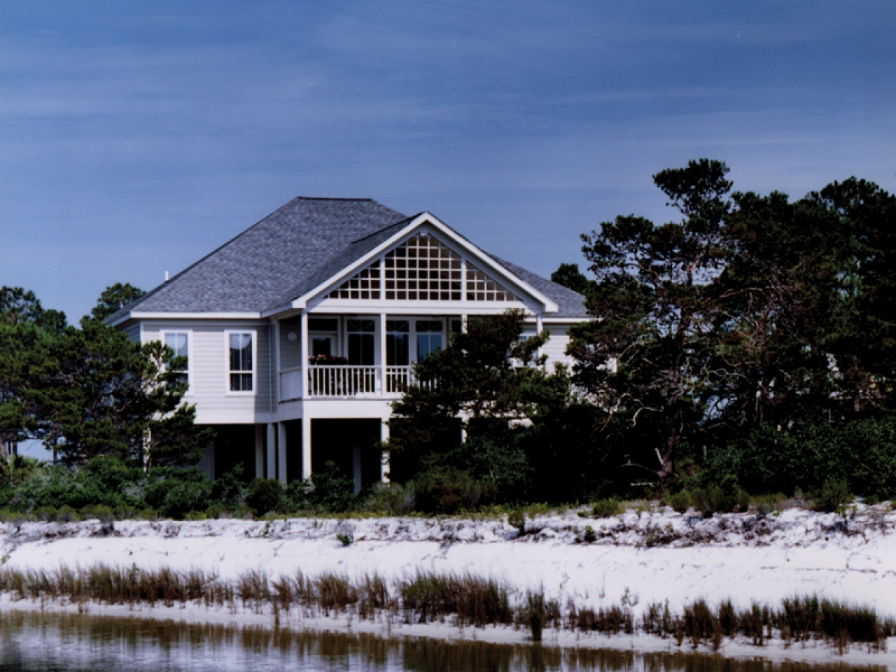 Home plans raised beach house beach style house designs for Coastal style house plans