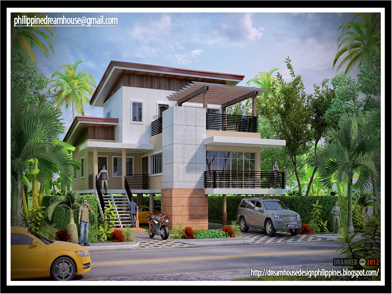 Modern House Designs Elevated: Latest House Design In Philippines Modern House Design