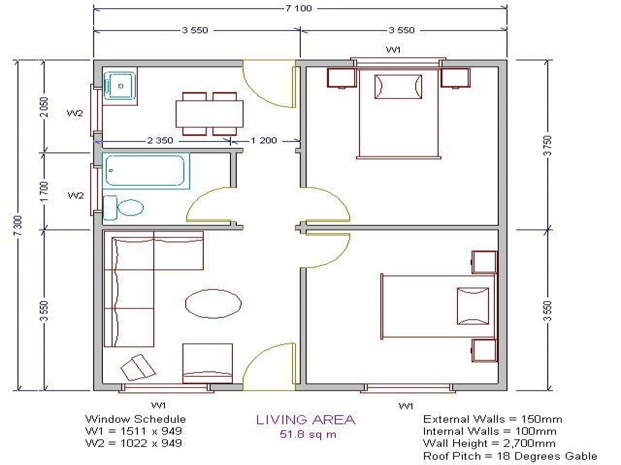 Simple Low Cost House Plans Low Cost House USA, housing ...