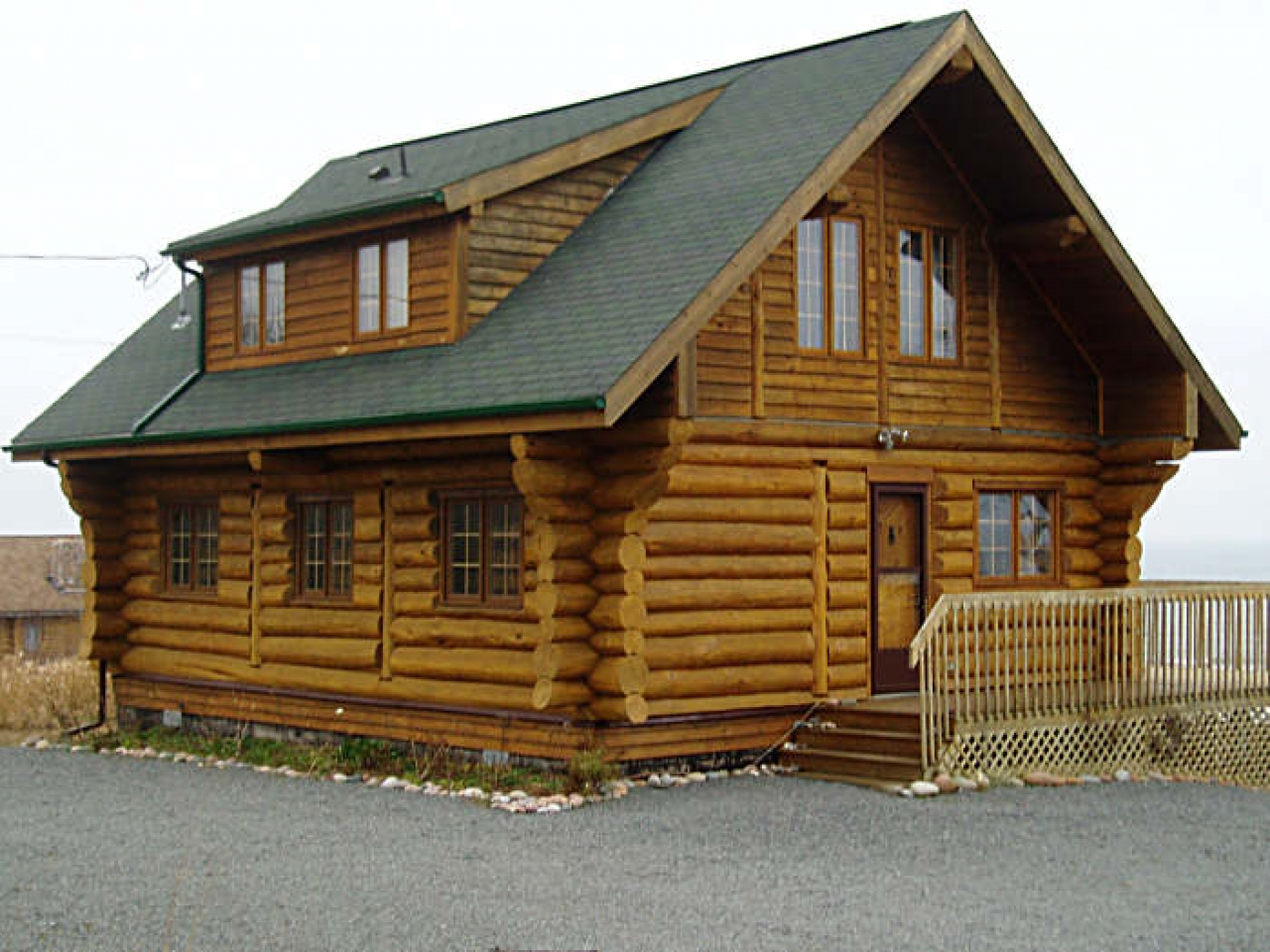 Small log cabin interiors the aylesford log cottage log for Small log cabin home plans