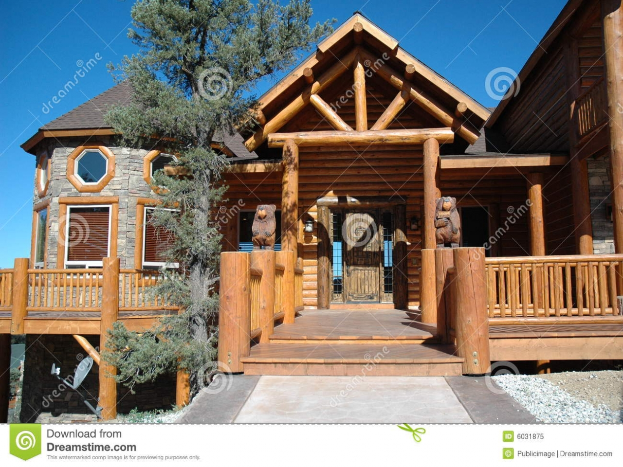 Small log cabin style homes log cabin style home cabin for Log cabin style homes