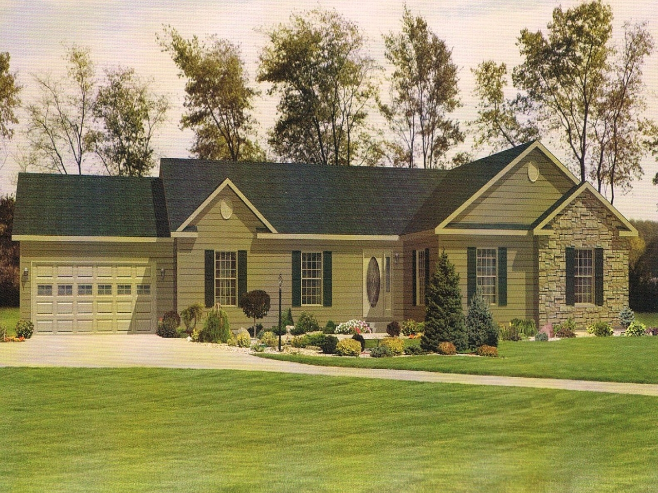 Southern Ranch Style House Plans Southern Front Porch