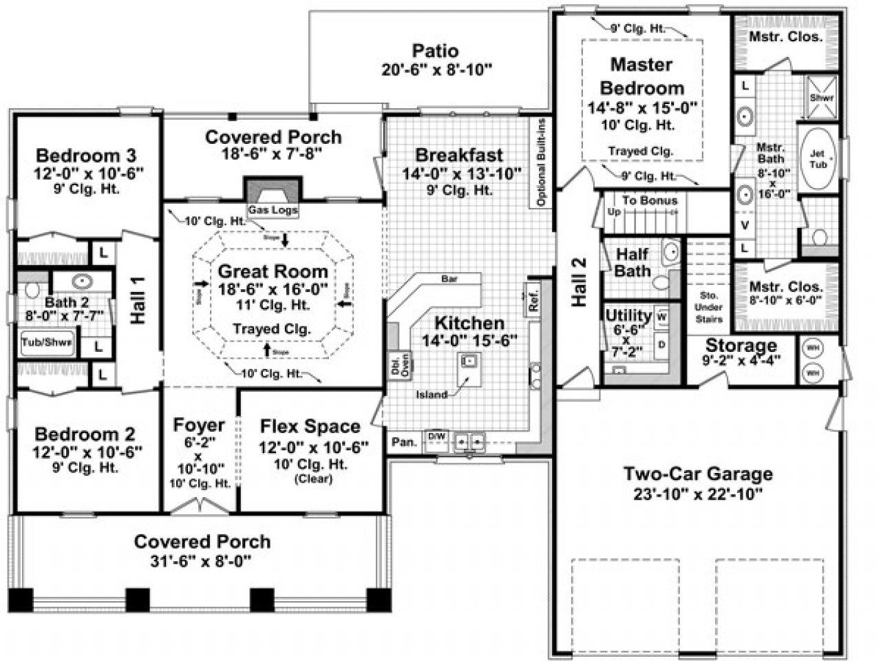 Bungalow house floor plans vintage bungalow house plans for Bungalow house plans alberta