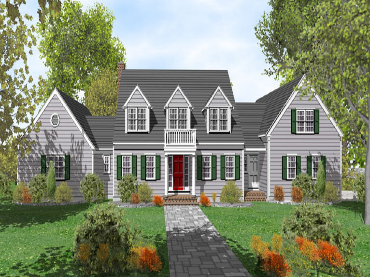 Cape cod house plans cape cod house floor plan cape cod for Cape cod cottage plans