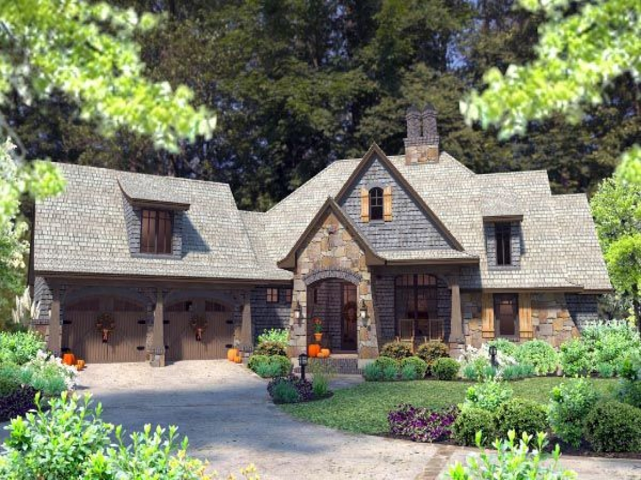 French Cottage Home Designs French Country Cottage House
