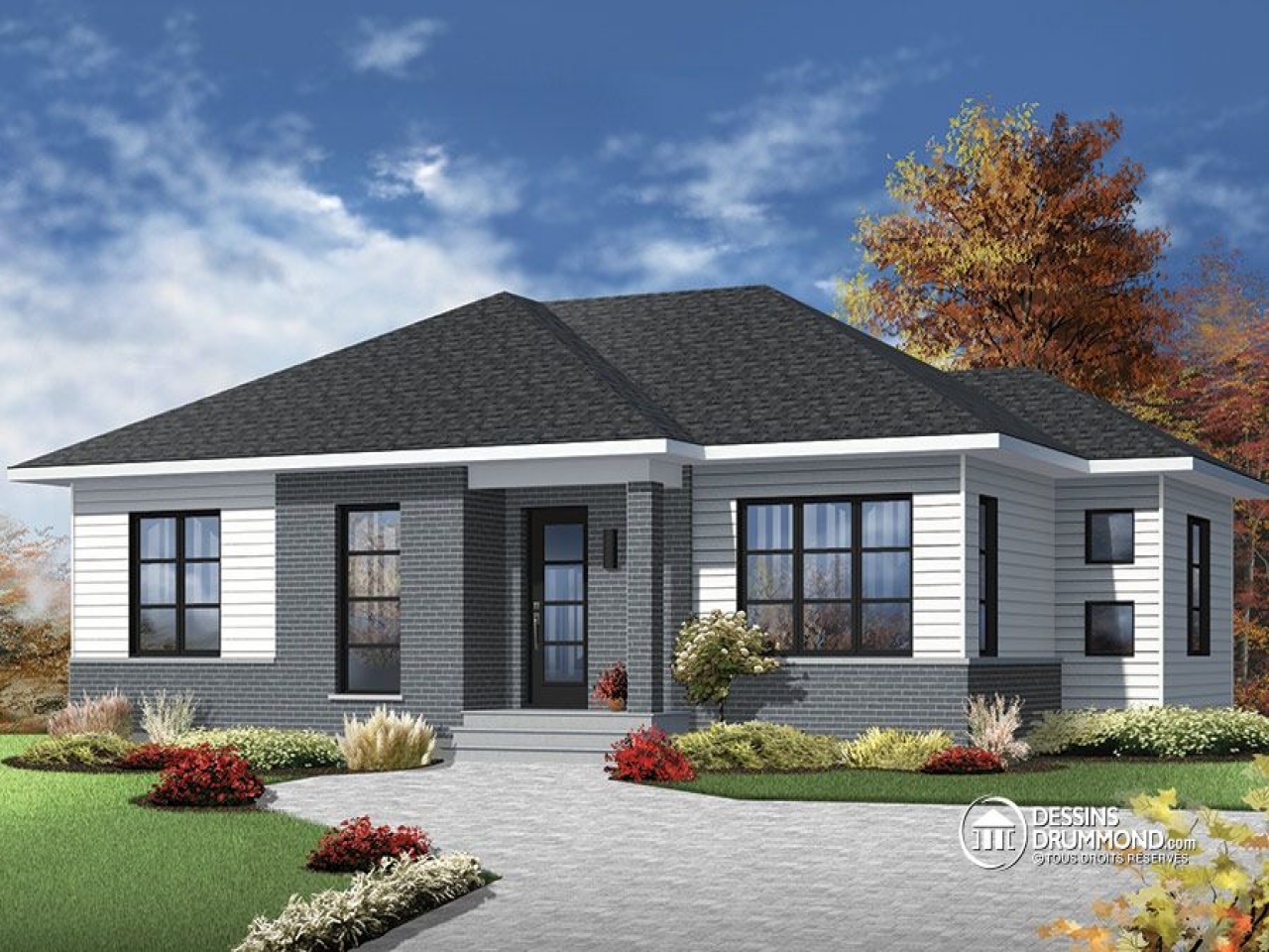 Large bungalow house plans bungalow house plans for Bungalow house plans philippines