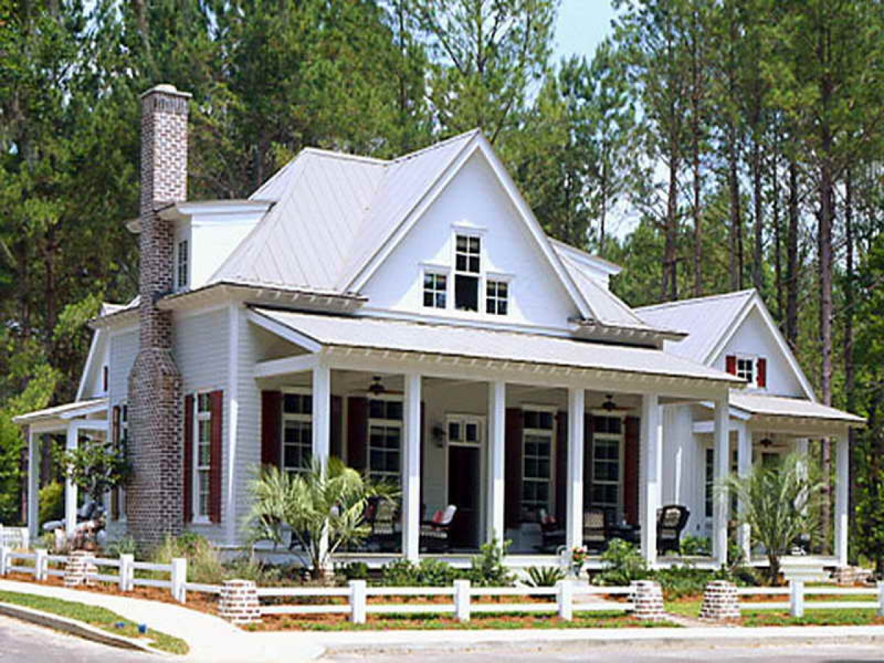 Low country cottage southern living southern living for Southern cottage house plans with photos