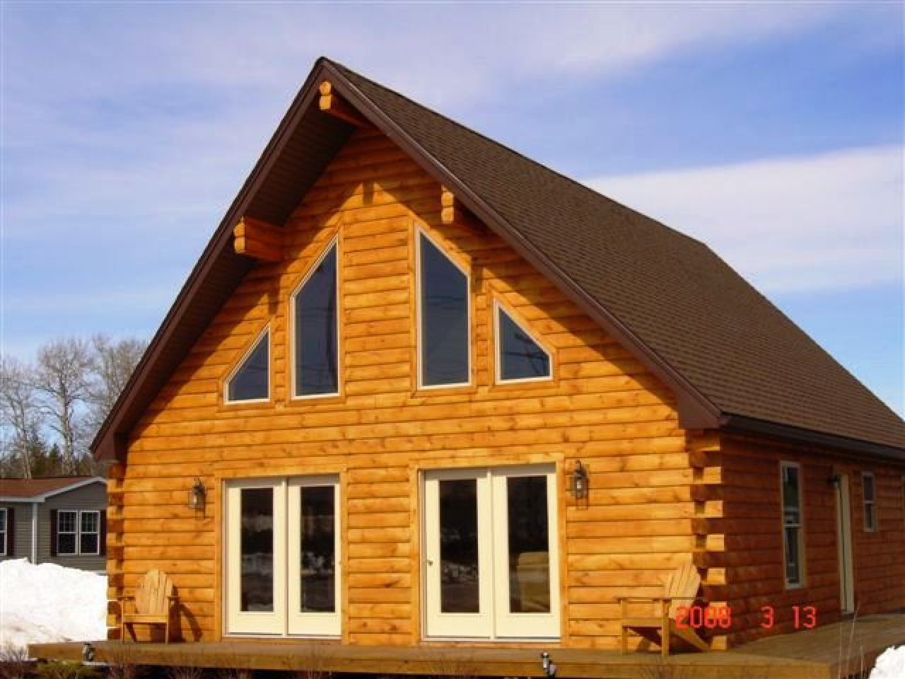 Modular chalet homes maine craftsman modular homes in for Maine home builders