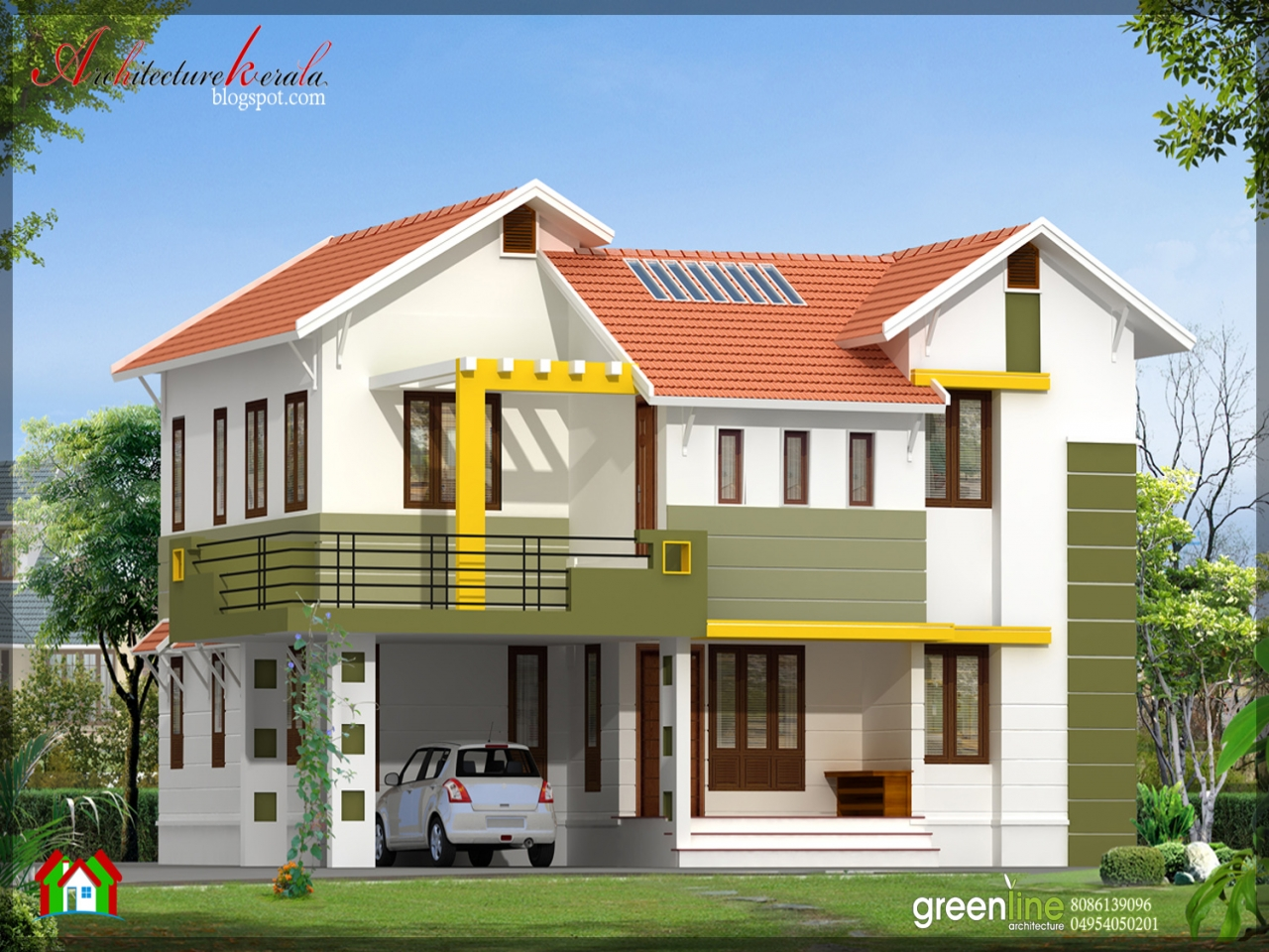 Simple modern house designs simple house design in india for Simple mansion