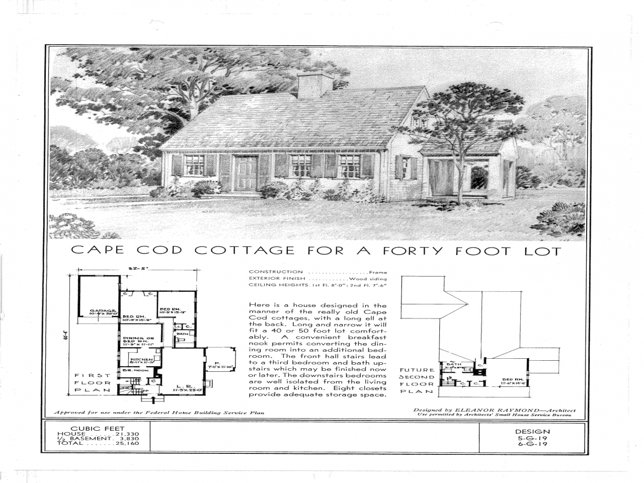 Small cape cod house plans 1940s cape cod house floor for 1950s cape cod house plans