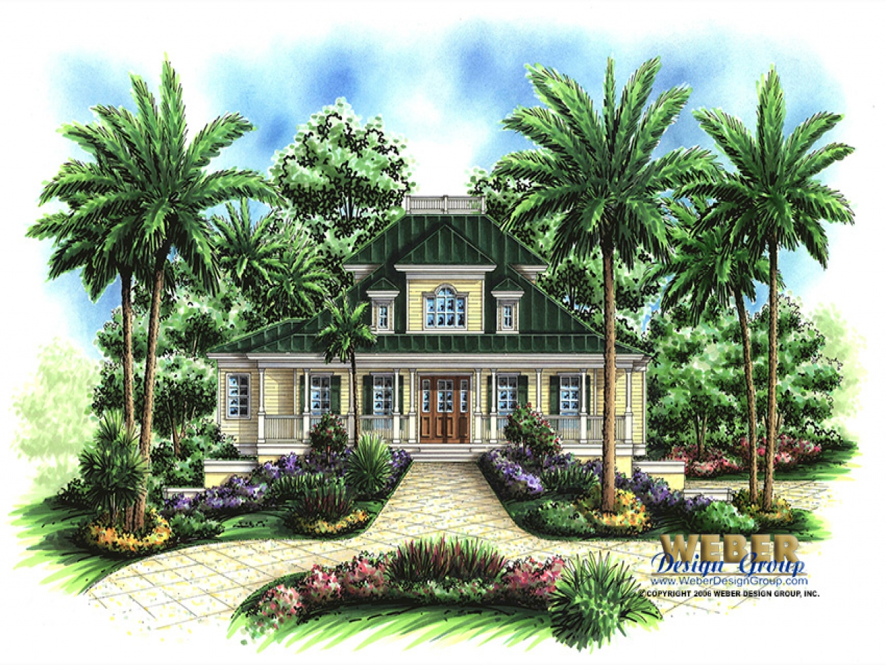 Tropical plantation house plans hawaiian plantation style for Plantation house plans