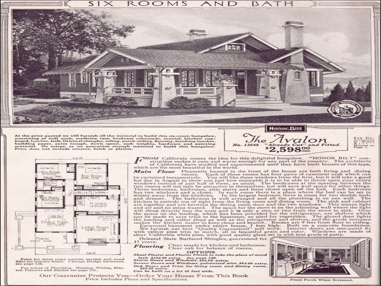 1920 sears home kits bungalows sears craftsman bungalow for 1920 craftsman bungalow floor plans