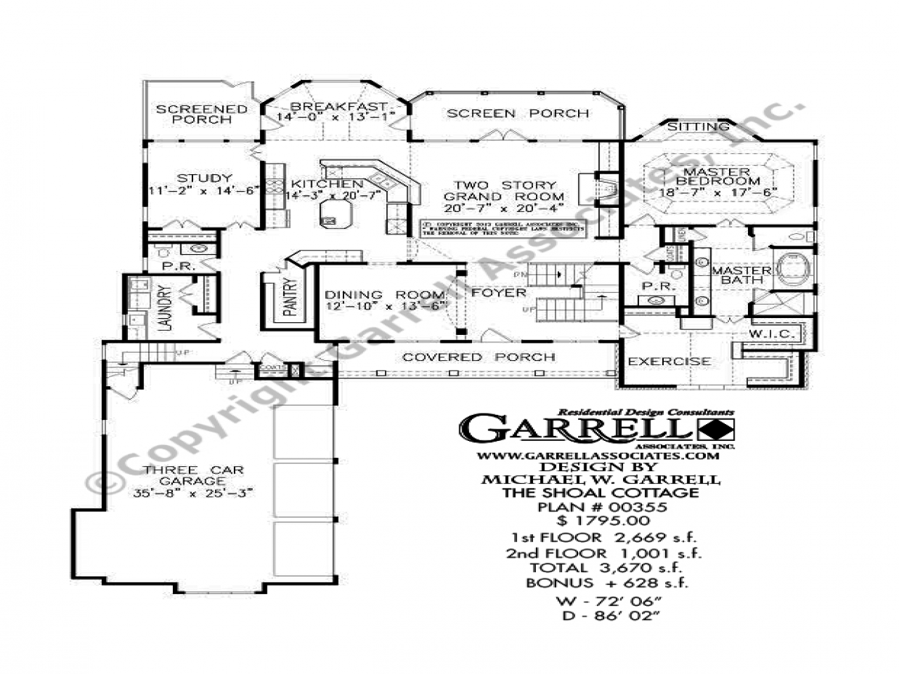 Cottage House Plans One Floor Cottage House Plans With