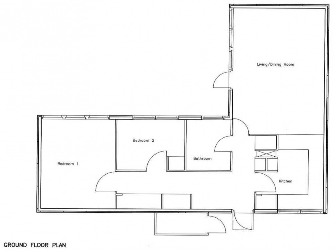 Craftsman bungalow house plans bedroom bungalow floor plan for 5 bedroom bungalow house plans