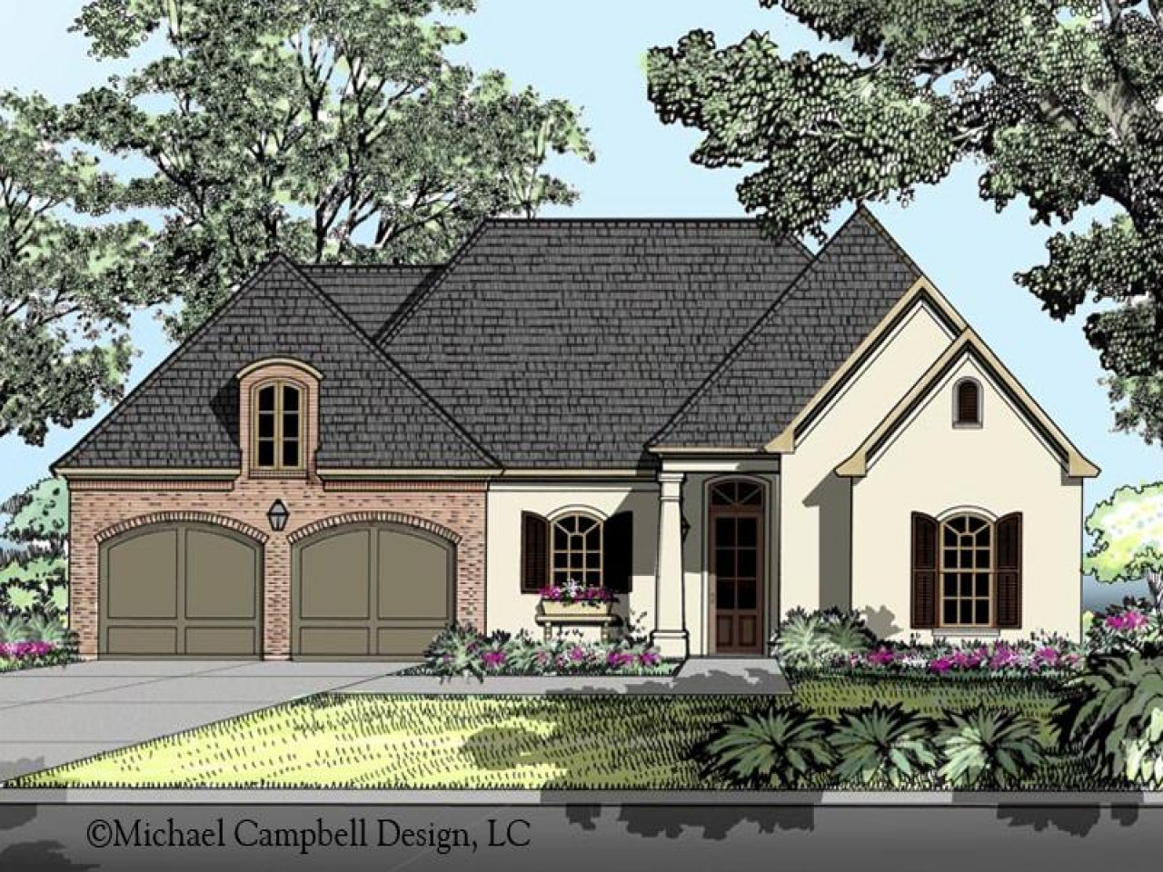 French country house plans country cottage house plans for French country plans