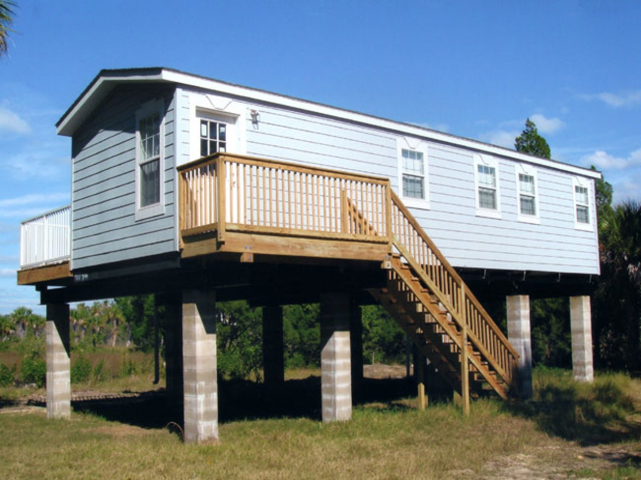 Homes on stilts in louisiana modular homes on stilts for Stilt home builders