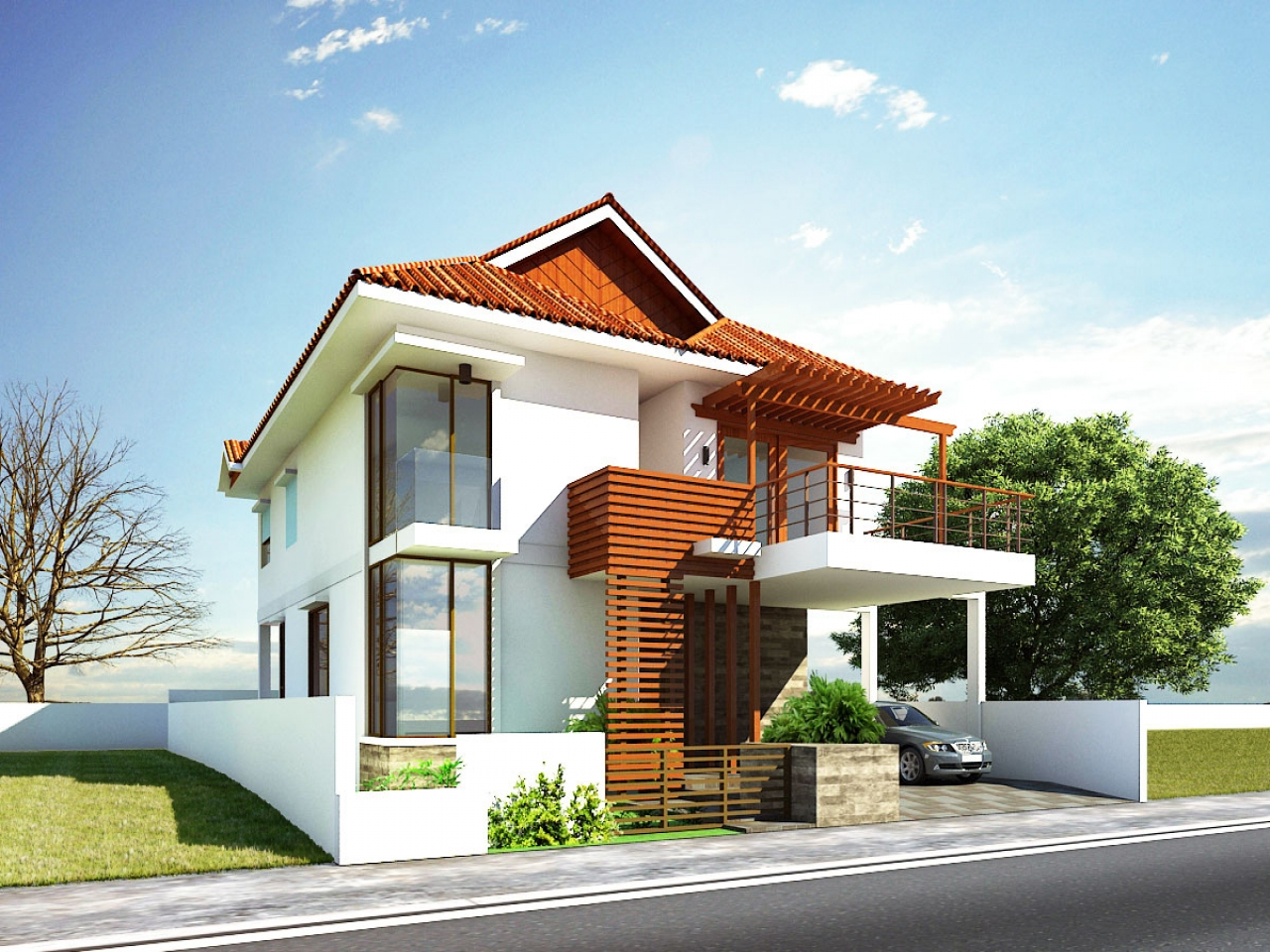 Modern house exterior design ideas best modern house for Classic house design philippines