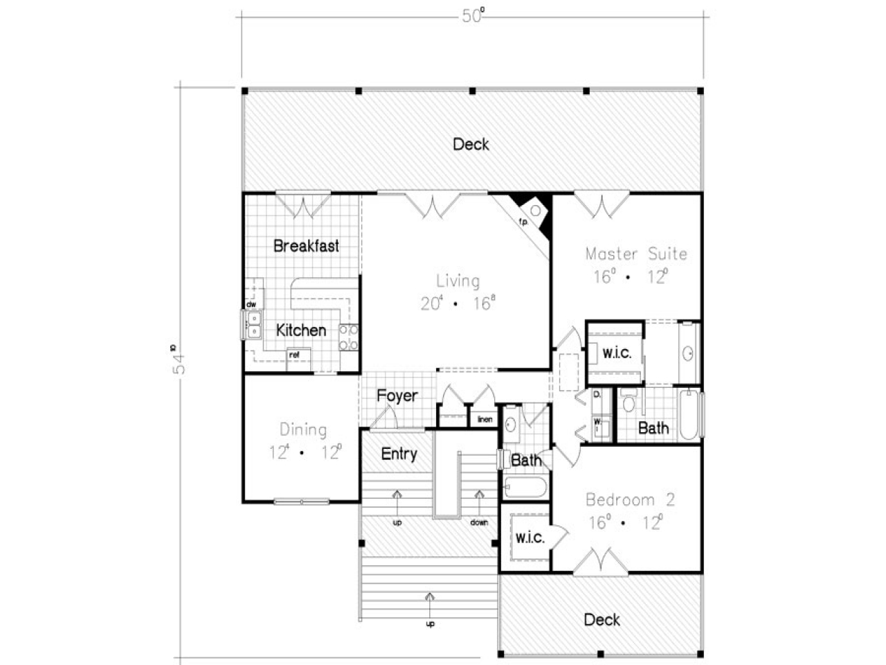 Private beach bungalows beach bungalow house floor plan for Bungalow floor plans free
