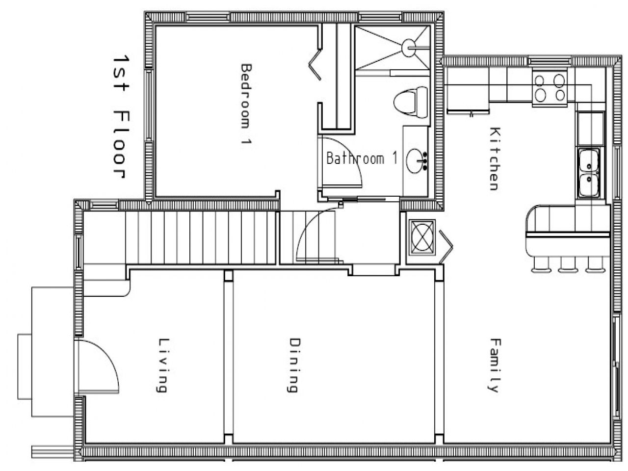 Small house floor plan very small house plans small plans for Very small house floor plans
