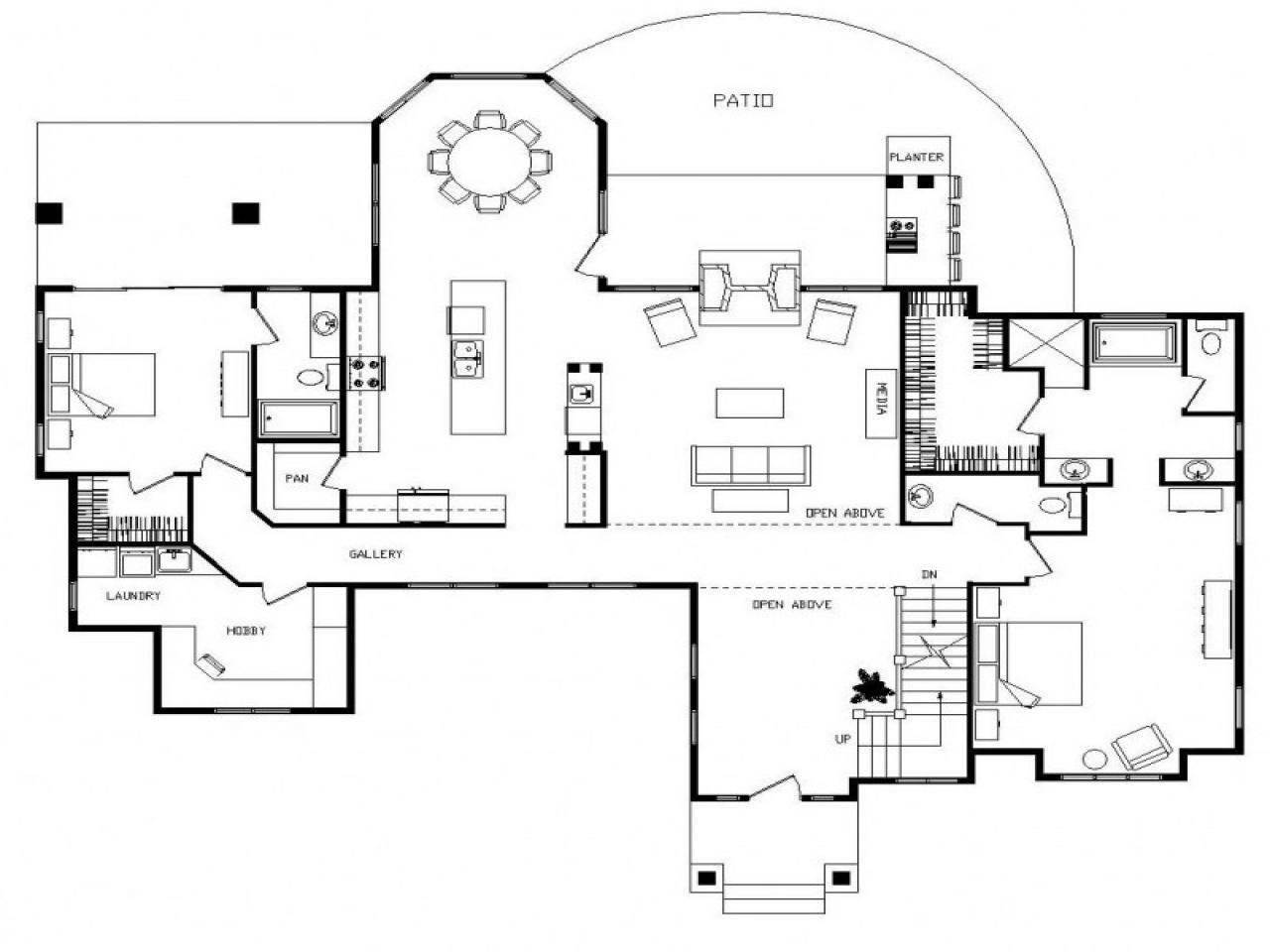 Small log cabin floor plans small log cabin homes floor for Luxury cabin floor plans
