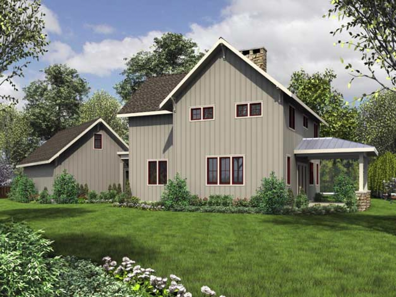 Award winning small modern house plans award winning for Award winning ranch house plans