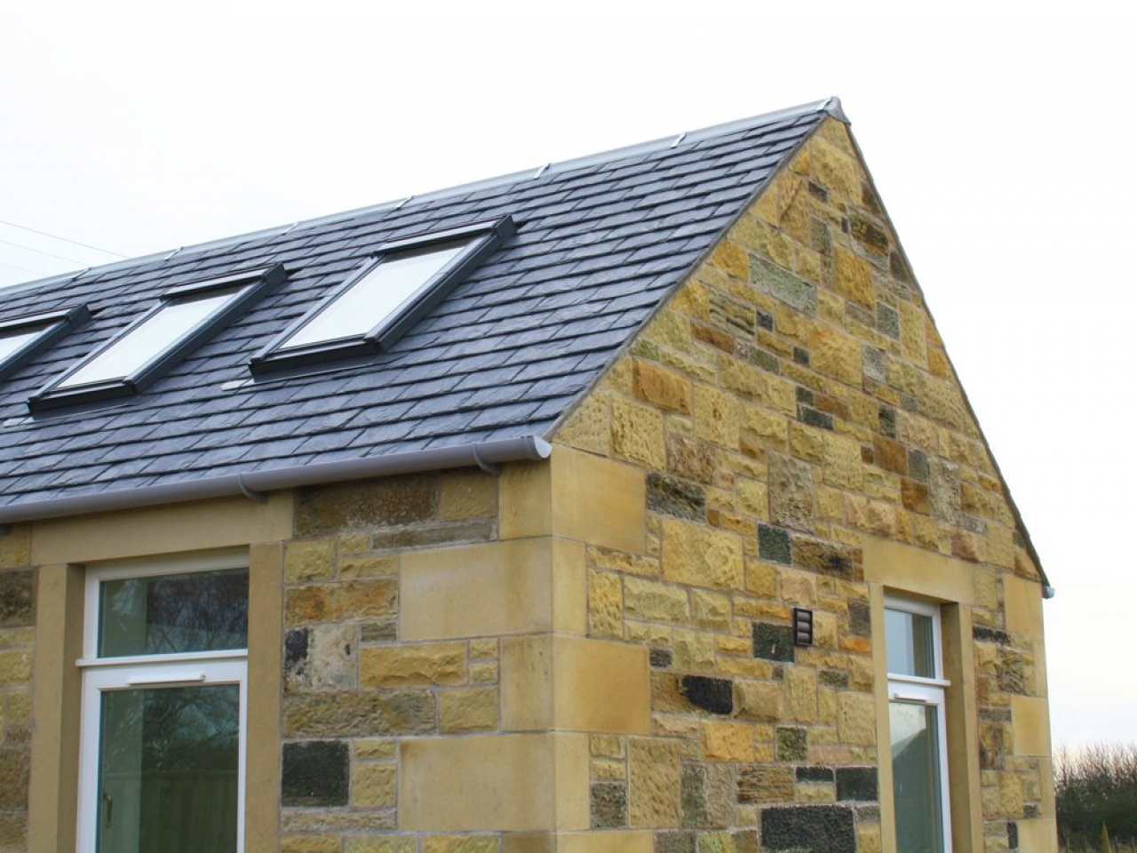 Cottage extension crail full outline detailed design fife for Cottage extension designs
