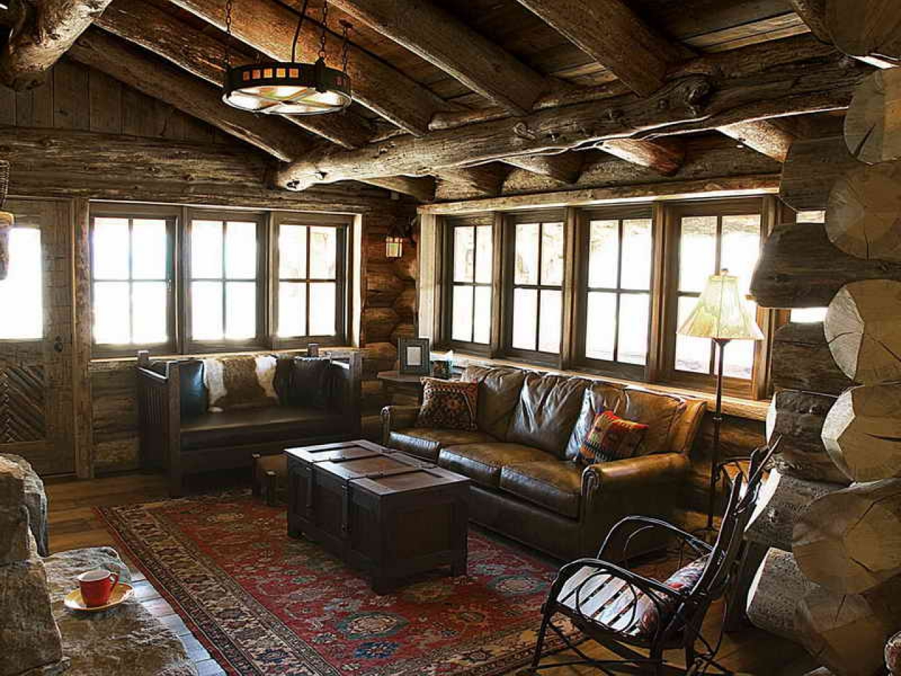 Country style living rooms rustic style living room for B m living room furniture