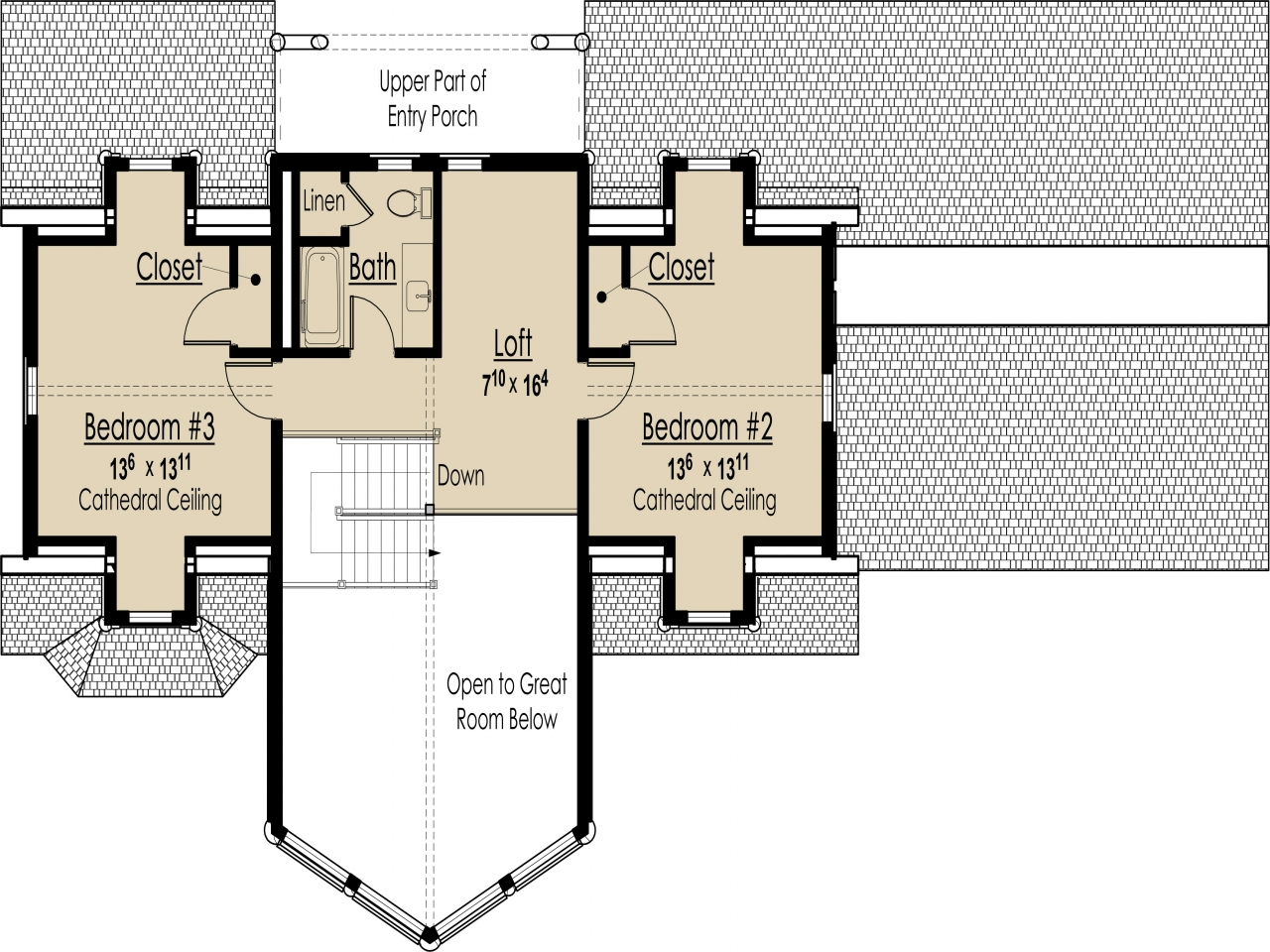 Energy efficient home design features energy efficient for Efficient house plans small