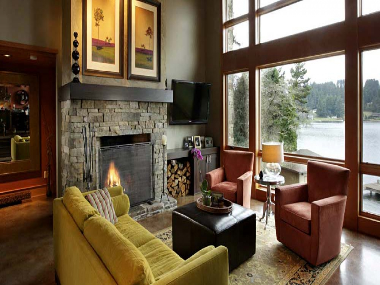 Lake House Traditional Interior Design Interior Lake House Decorating Ideas Lake Home Design